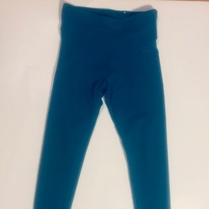 Justice leggings size 6/7 blue